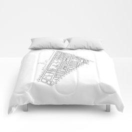 Tribeca, NY Comforters