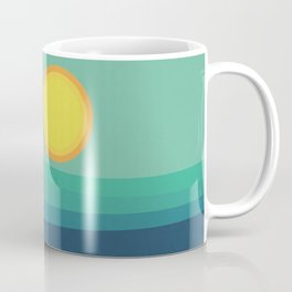 Abstract Landscape - Blue Mountains Coffee Mug