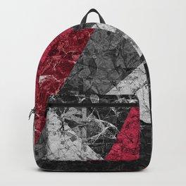 Marble Geometric Background G431 Backpack