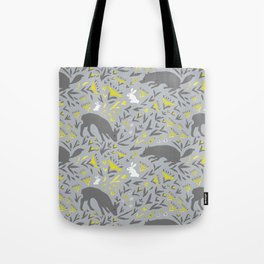 Folky Forest Tote Bag