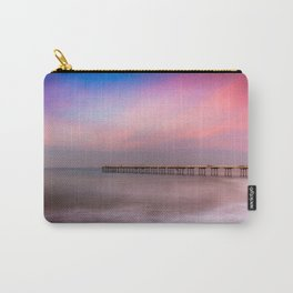 Peaches and Cream Carry-All Pouch