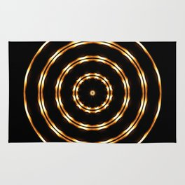 Golden Eye Rug