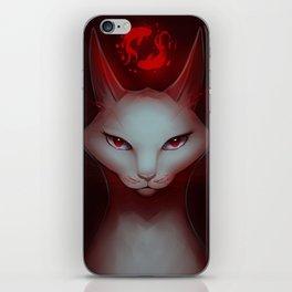 Vampire Cat iPhone Skin