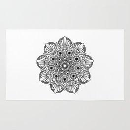 Mandala handmade Drawing, Decoration, Mandala Art, Zen Art Rug