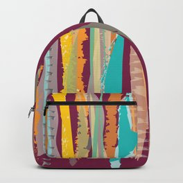 Strokes of colors Backpack