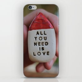 All You Need Is Love House iPhone Skin