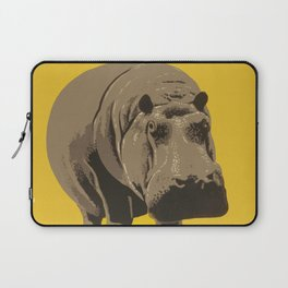 Vintage Visit The Zoo Hippo Laptop Sleeve