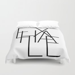 Inhale exhale (2 of 2) Duvet Cover