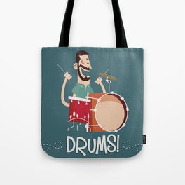 Drums! Tote Bag