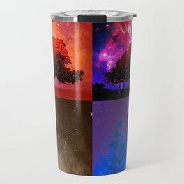 Magic Space Trees II Travel Mug
