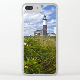 Montauk Point Lighthouse Clear iPhone Case
