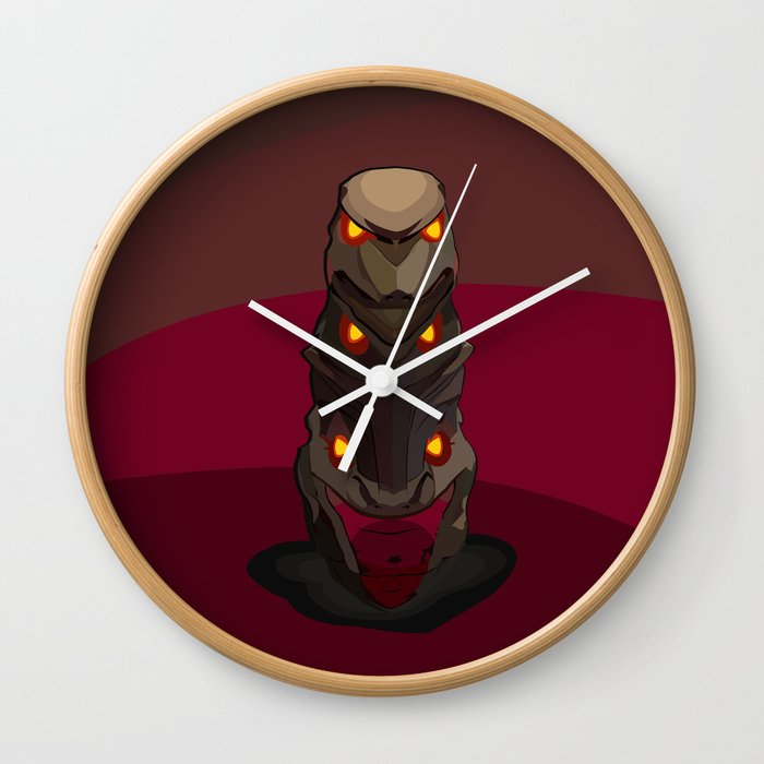 Path Of Exile Original Kuduku Wall Clock By Johntakacsdesign