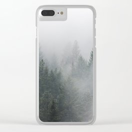 Long Days Ahead - Nature Photography Clear iPhone Case