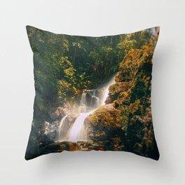 Stream of Light Throw Pillow