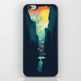 I Want My Blue Sky iPhone Skin