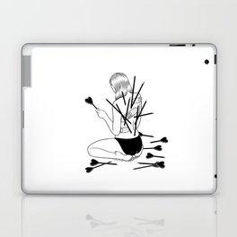 I fall in love too easily Laptop & iPad Skin
