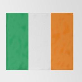 Flag of the Republic of Ireland Throw Blanket