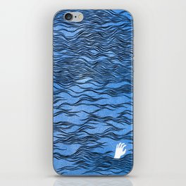 Man & Nature - The Dangerous Sea iPhone Skin