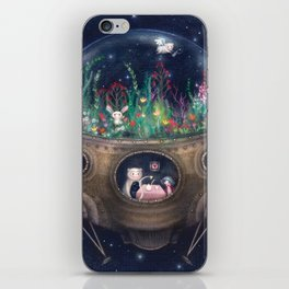 Space Home iPhone Skin