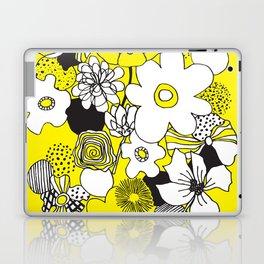 Floral Medley - Yellow Laptop & iPad Skin