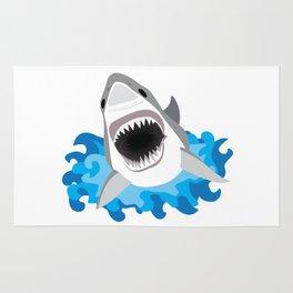 Shark Attack #2 Rug