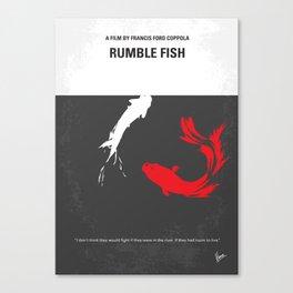 No073 My Rumble fish MMP Canvas Print
