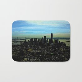 Artistic NYC Skyline Bath Mat
