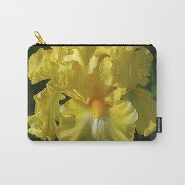 Golden Iris flower - 'Power of One' Carry-All Pouch