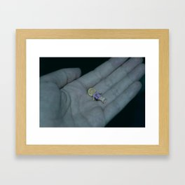 Moments of life & poetry Framed Art Print