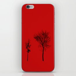 TOGETHER IN CAOS iPhone Skin
