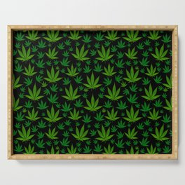 Infinite Weed Serving Tray