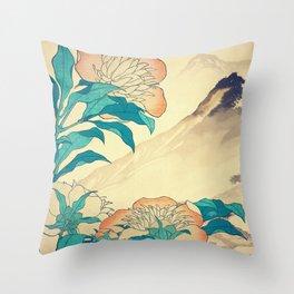 Mutual Admiration in Dana Throw Pillow