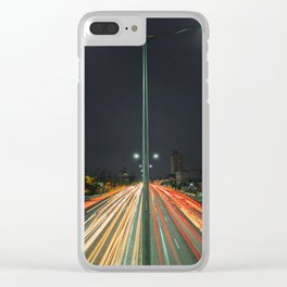 Car Lights Clear iPhone Case