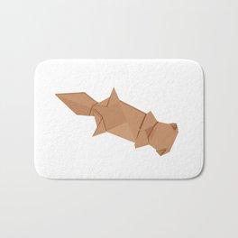 Origami Sea Otter Bath Mat