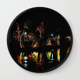 Chicago at Christmas: Zoo Lights #1 (Chicago Christmas/Holiday Collection) Wall Clock
