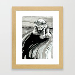 Teddy bear Framed Art Print