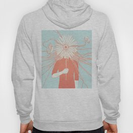Flower Girl (Life and the Fragile Presence of Beauty) Hoodie