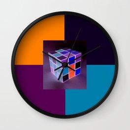 Rubik´s Cube is turning into Dj´s Launchpad Wall Clock