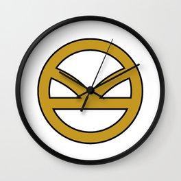 KINGSMAN - Golden Logo with border Wall Clock