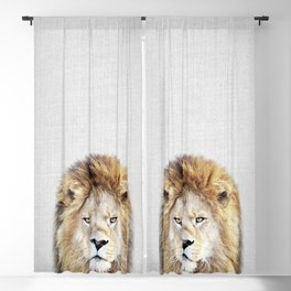 Lion 2 - Colorful Blackout Curtain