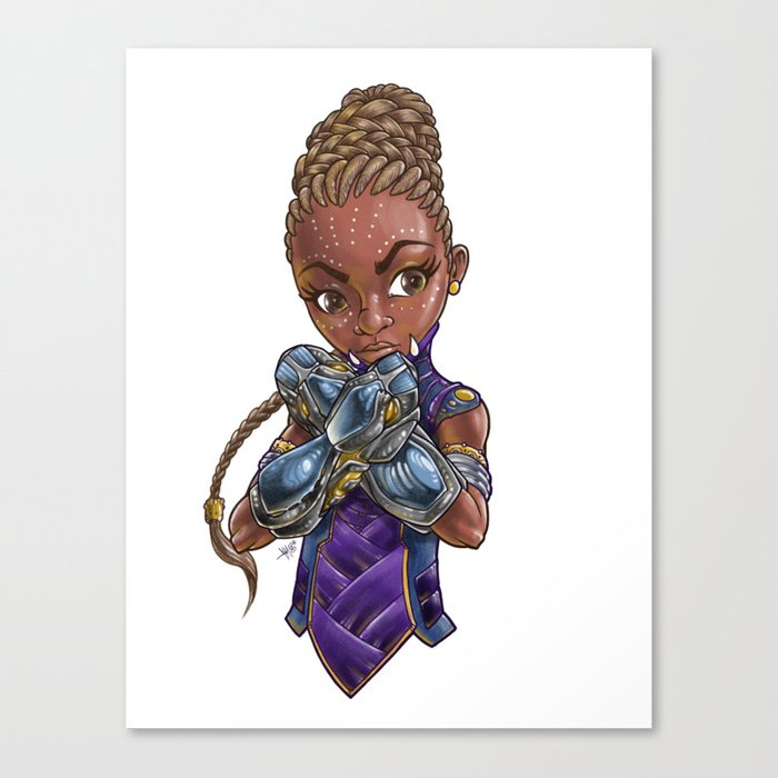 Princess of STEAM Canvas Print