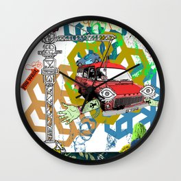 Of The Enemy Wall Clock