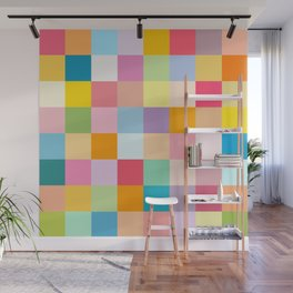 Candy colors Wall Mural