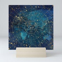 Star Map :: City Lights Mini Art Print