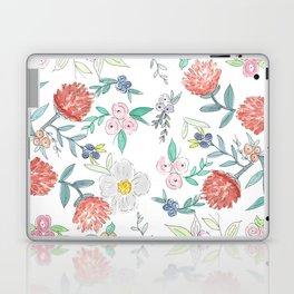 Floral Watercolor Pattern  Laptop & iPad Skin