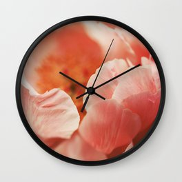 Paeonia #7 Wall Clock