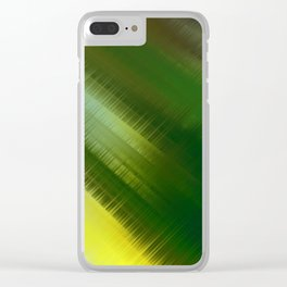 Color Burst - Into the Forest Clear iPhone Case