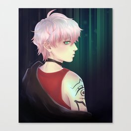 Mystic Messenger Unknown Canvas Print