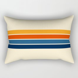 Classic Retro Stripes Rectangular Pillow