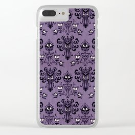 The Haunted Mansion Clear iPhone Case